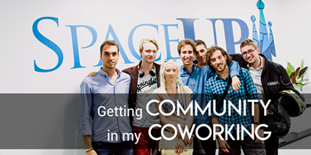 How to get community feeling in a coworking space